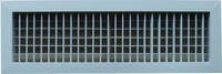 Double Blades Air louver with damper