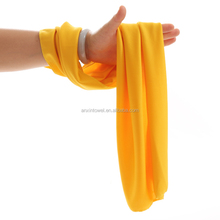 Sport cooling towel in 90%polyester10%nylon\UPF 50 for superior sun protection