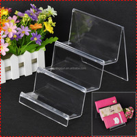 Promotional marketing gift wallet display shelf, compass display stand