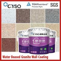 Water based granite liquid paints