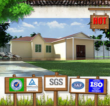Good quality well design two bedroom ready made cement homes