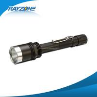 Aluminum Q5 LED Rechargeable LED Flashlight Aluminum body with safety hammer