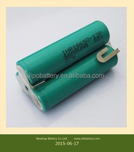 Hot sale samsung inr18650-13p 1300mah for power tool battery