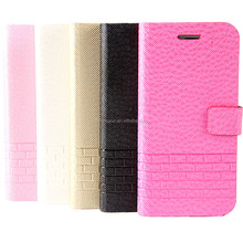 OEM manufacturer hot sell flip bumper case for iphone 6 plus