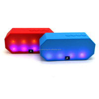 2015 New colourful mini bluetooth speaker, support TF card, Aux-in, FM radio