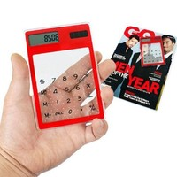 Калькулятор Oem top100pcs touch LCD solar transparent calculator