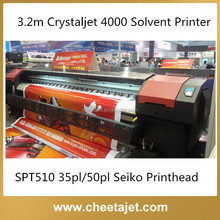 Fast Speed High Quality 3.2m Crystaljet 4000 Series Outdoor Large Format Digital Printer for Flex Banner Printing