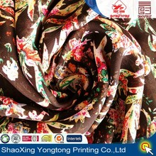 patterned chiffon fabric by shaoxing textile china manufacturer