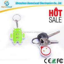 Bluetooth remote control Bluetooth anti lost alarm Smart whistle key finder keychain