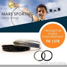High Quality hexagonal shape co- polyester tennis string 12m/set for tennis racket
