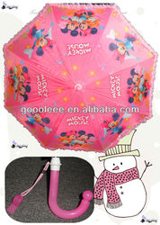 whistle mickey and minnie kids umbrella
