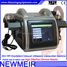 5 in 1 ultracavitation multipolar rf vacuum ultrasonic cavitation machine