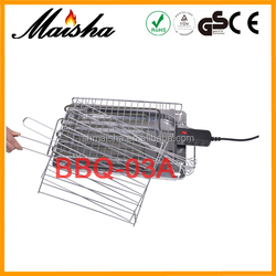 CE portable japanese folding stainless steel bbq grill