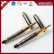 2015 New Deluxe Carved Fountain Pens for Cooperate Gift