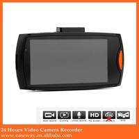 K-1000 night vision dvr for hk fair , Night vision wide angle Full HD 1080P car black box