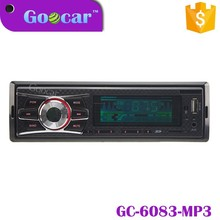 Single Din Fixed Panel Car mp3 player/car stereo/car audio mp3 usb player with ID3/USB/SD/WMA/fm am /bluetooth