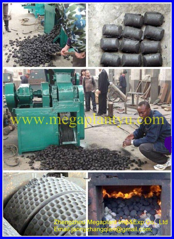 Как с угольной пыли сделать брикеты