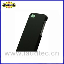 For Apple iPhone 5 Rubberized HARD Protector Case Snap On Phone Cover Black