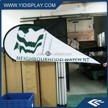 Teardrop Flying Banner For Wholesale
