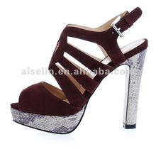 new shoe for sexy woman in summer fashion sandals 2013