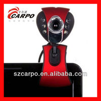 Covers for 7 Tablet New usb web camera with clip for laptop use M14