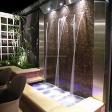 China Supplier Modern Art Artificial Indoor Waterfall