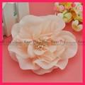 Atacado decoração de tecidos de seda artificial flor do casamento com pinos wbf-107