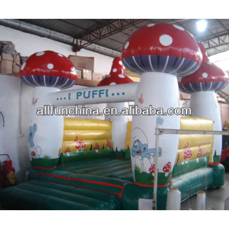 Inflables bouncer / Casa inflable seta Jumper