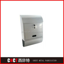 outdoor theftproof steel letterboxes