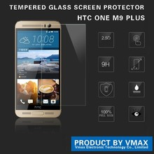 2015 New Product !! 0.33mm HD Clear Mobile Phone Tempered Glass Screen Protector For HTC ONE M9+ / x