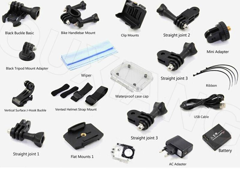 Последний водонепроницаемый Full HD 1080p Действие камера спорта SJ4000 WiFi