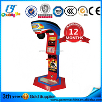 Lottery ticket drogon boxing III punch machine for sale