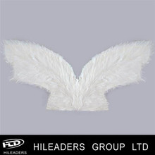Wholesale Goose Feather White Color Cheap Feather Wings