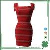 Cheap red bandage dress for women wholesale beading bandage dress