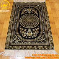2.5x4ft Garde design hand made oriental carpet silk carpet picture