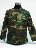 BDU uniform oil & stain resistant T/C 65/35 custom combat military camouflage tactical army uniform jacket+pant uniform