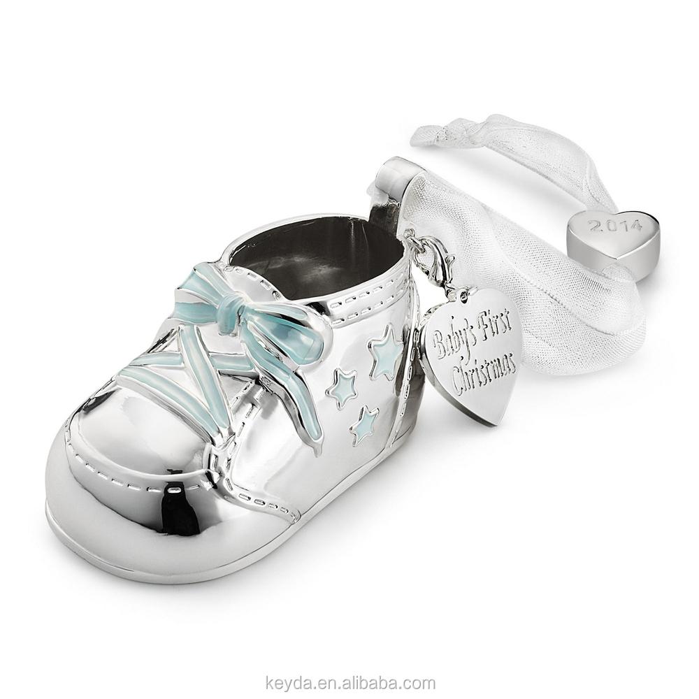 Metal baby shoes christmas ornaments buy expensive christmas