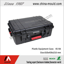 plastic equipment case with handle SH45-9A