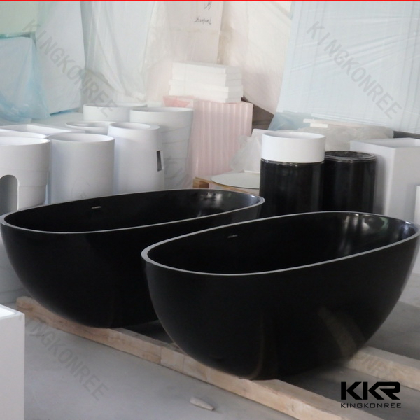 solid surface black oval bathtub freestanding buy oval