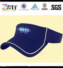 Sun visor hat/cheap custom sun caps wholesale/printing caps
