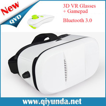 2015 Newest best price plano-convex lens high-grade vr 3d glasses