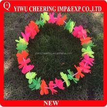 OEM Hawaii Flower Petal Garland Hawaii Flower Necklace Lei