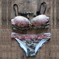 Fashion leopard six sexy beach wear/hot girl sex bikini/animal women sex photo