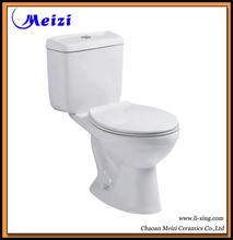 dos pieza de cuarto de baño sanitarios wc wc