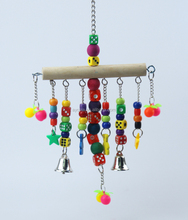 Bead Curtains Plastic Parrot Toy