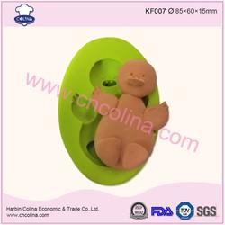 Duck shape cake decoration tools fondant silicone mold