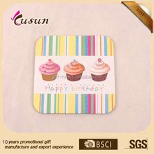 Printed Laminated coaster Hot Pink Printed coaster Fashion paper printed coaster