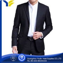 anti-wrinkle Guangzhou woolen one button suits for men 2012