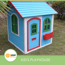 New design wooden cubby house