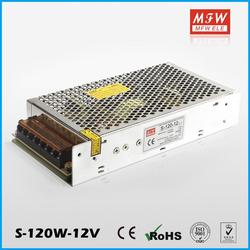china factory S-120-12 120w 12v 10a led power supply with low price